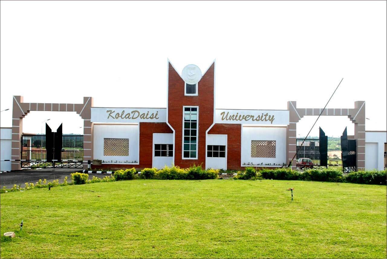 Koladaisi University, Oyo Post UTME past questions