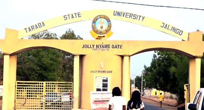 Taraba State UniversityPost UTME past questions and answers