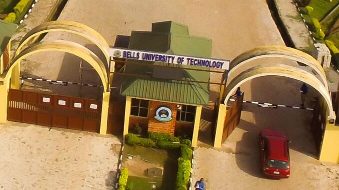 Bells University of Technology Post UTME past questions