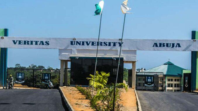 Veritas University Post UTME past Questions