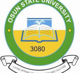 UNIOSUN Post UTME/Direct Entry Form for the 2021/2022